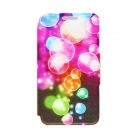 Kinston Color Bubble Pattern PU Leather Full Body Case with Stand for HTC One Mini M4