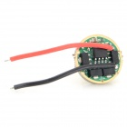 17mm 5-Mode 3.0~4.5V Driver Board for Flashlight - Green
