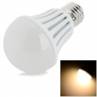G-012 E27 12W 840lm 3500K COB LED Warm White Light Bulb - White (AC 85~265V)
