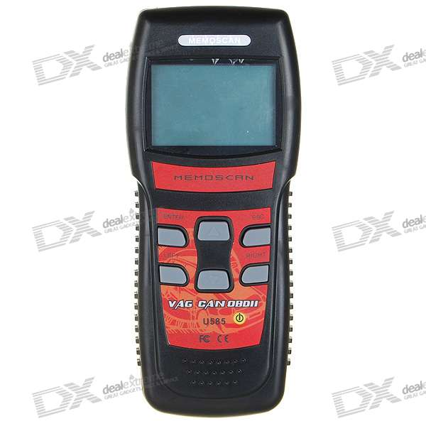 "U585 2.8"" LCD VAG & CAN OBD2 Car Diagnostic Code Reader Memo Scanner (1*6F22)"