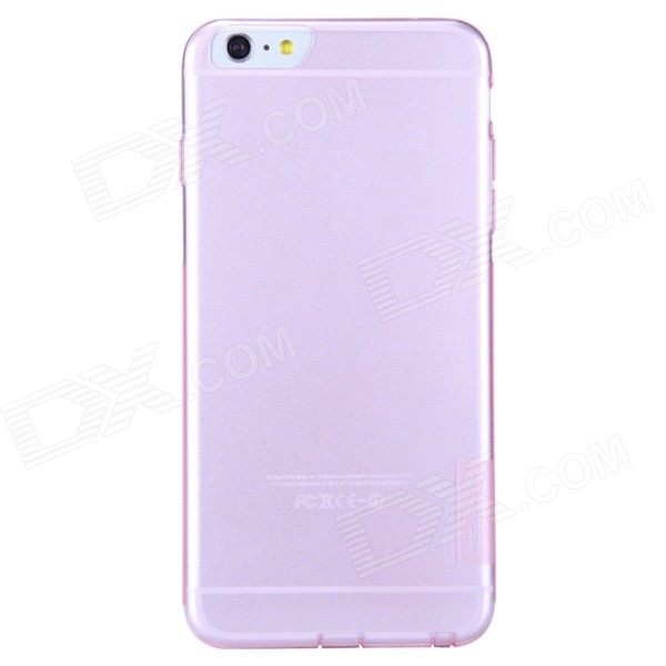 NILLKIN Ultra-thin Protective TPU Back Cover Case for IPHONE 6 PLUS 5.5 - Translucent Pink stylish ultra thin protective tpu back case cover for 4 7 iphone 6 translucent pink
