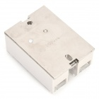 60A AC 24~380V ABS + Zinc Solid Relay - Greyish White + Silver (DC 3~32V)