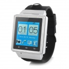 "ZGPAX S6 1.54"" Touch Screen Dual Core Android 4.0 3G Smart Watch Phone w/ Camera, Wi-Fi - Silver(US)"