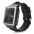 ZGPAX S6 Dual Core Android4.0 3G Watch Phone w/ 512MB, 4GB ROM - Black