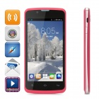 "ZOPO ZP590 Quad-Core Android 4.4.2 Phone w/ 4.5"" Screen, 512MB RAM, 4GB ROM, Dual-SIM - Deep Pink"