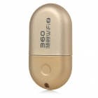 Portable Mini Wifi Hotspot w/ USB 2.0 Port + Strap - Golden