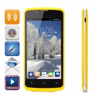 "ZOPO ZP590 Quad-Core Android 4.4.2 Phone w/ 4.5"" Screen, 512MB RAM, 4GB ROM, Dual-SIM - Yellow"
