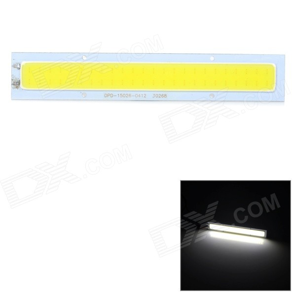JRLED 15W 800lm Cold White Light COB LED Light Bar