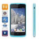 "ZOPO ZP590 Quad-Core Android 4.4.2 Phone w/ 4.5"" Screen, 512MB RAM, 4GB ROM, Dual-SIM - Blue"