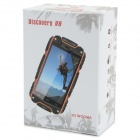 "Discovery V8 MTK6572 dual-core Android 4.2 WCDMA + GSM 3G-telefoon w / 4.0 ""scherm, Wi-Fi, TF - Black"
