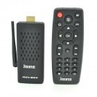 Jesurun T034 Android 4.4.2 Quad-Core Google TV Player w/ IR Remote, Support 4Kx2K & Full 1080p H.265