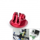 Aluminum Alloy Bike Mount Adapter Headset w / Schraube für Gopro Hero 4/3 + / 3 / SJ4000 + More - Red