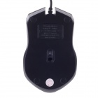 JM-316 Stylish USB 2.0 Wired 1200dpi Gaming Mouse - Golden