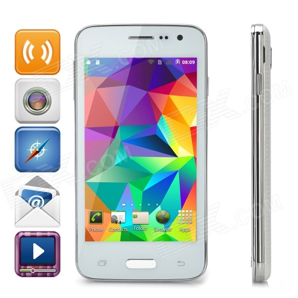 miXc S5i Android 2.3 SC8810 Quad-Band Phone w/ 4.0