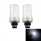 Replacement D2C 35W 3000lm 6000K White Light HID Xenon Lamp Bulb Headlight for Car (2 PCS)