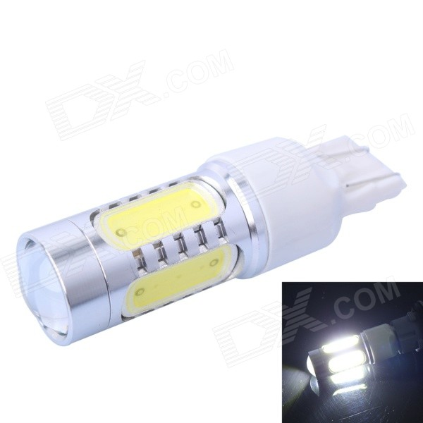 T20 (7440/ 7443) 7.5W 400lm 6000K White Steering / Tail Lamp / Signal Lamp LED for Car (DC10-24V)