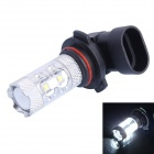 9005 / HB3 50W 500LM 6000K White LED Foglamp / Headlamp w/ 10 x Cree XB-D R3 for Car (DC12~24V)