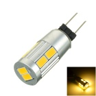 G4 5W 380lm 3000K 10-SMD 5730 LED Warm White Light Spot Bulb (12V)