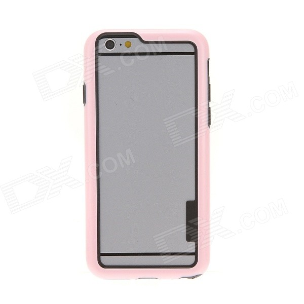 Kinston Protective Bumper Frame Case for IPHONE 6 4.7 - Pink kinston flowers