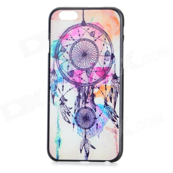 Aeolian Bell Pattern Plastic Back Case for IPHONE 6 4.7 - White + Multicolored dream capture bell pattern protective plastic back case for iphone 6 4 7 black purple