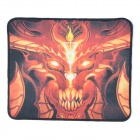 FIRE-PAD D3 Tragbare Patterned Rubber Mouse Pad Mat - Orange