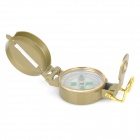 AOTU AT7590 Outdoor Camping Mountaineering Portable Lensatic Compass - Golden