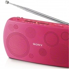 Genuine Sony Portable Stereo Radio SRF-18 - Deep Pink (Reliable Quality)
