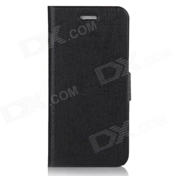 "Mr.northjoe Protective PU Case w/ Stand / Card Slot for IPHONE 6 PLUS 5.5"" - Black"