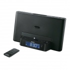 Genuine Sony iPod and iPhone Dock Clock Radio ICF-DS15IPN/B - Black
