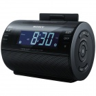 Genuine Sony iPod and iPhone Dock Clock Radio ICF-C11IP/B - Black
