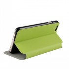 "Stylish Flip-Open PU Leather + PC Case for IPHONE 6 PLUS 5.5"" - Green"
