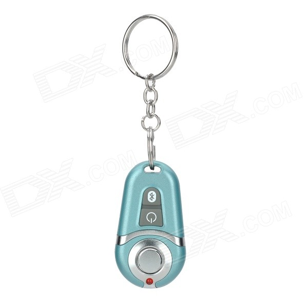 Bluetooth Selfie Shutter Remote Controller w/ Keychain for IPHONE / Samsung / Meizu - Light Green