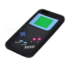 "Handheld Console Pattern Protective Silicone Back Case for IPHONE 6 4.7"" - Black + Blue"