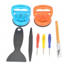 Kaisi K-X2002 8-in-1 Disassemble Repair Tools Set for IPHONE / IPAD - Blue + Orange + Multi-Color