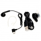 Mini Bluetooth V4.0 In-Ear Headset w/ Microphone for IPHONE / IPAD + More - Black