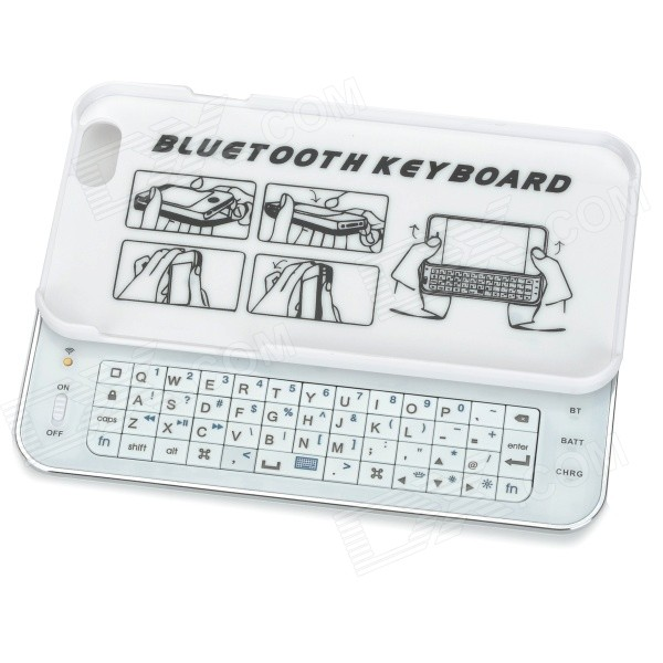 Sliding Bluetooth 50-Key Keyboard for IPHONE 6 4.7