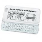 "Sliding Bluetooth 50-Key Keyboard for IPHONE 6 4.7"" - White"