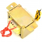 EI48-0600833-0600833 10VA 220V to Dual 6V 833mA Transformer - Light Yellow
