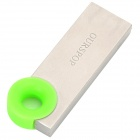 OURSPOP OP-1246 Portable Mini USB 2.0 Flash Drive - Silver + Green (16GB)