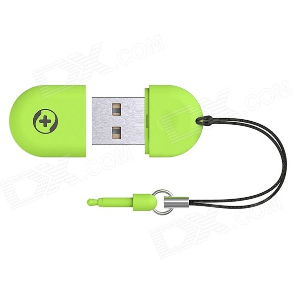 Portable USB 2.0 Powered Wi-Fi Access Point Adapter - Green