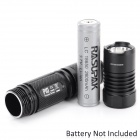 NITECORE P10 800lm 4-Mode Cold White Light LED Tactical Flashlight - Black (1 x 18650)