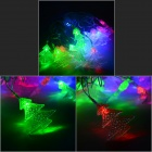 HH50 3W 530lm 20-LED RGB Christmas Trees Decorative Modeling String Light - White (4M / 220V)