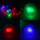 HH52 3W 530lm 20-LED RGB Plush Balls Decorative Modeling String Light - White (4M / 220V)
