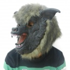 Latex Wolf Mask Toy for Halloween - Black