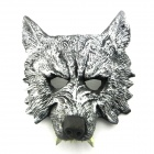 Wolf Mask + Gloves Animal Suit for Halloween Party - Black