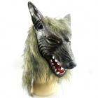 A1253 Halloween Wolf Head Style Performing Mask - Grey