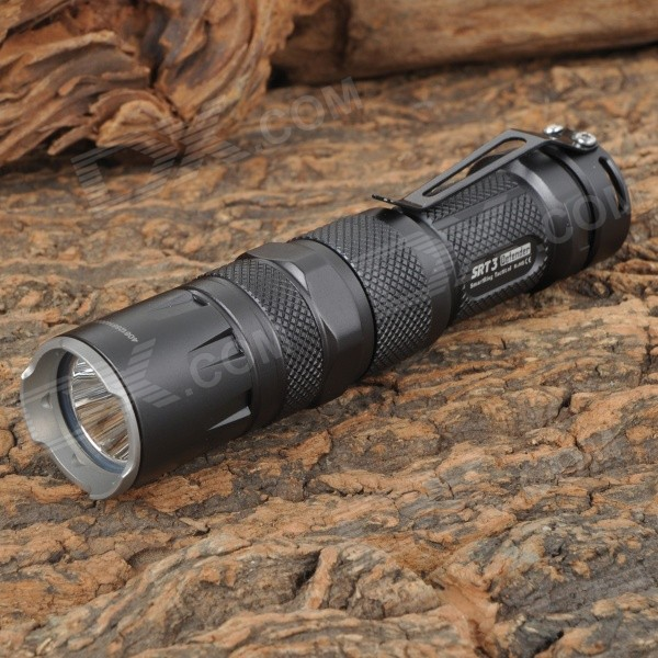 NITECORE SRT3 550lm 7-Mode Red / Blue / Cool White LED SmartRing Tactical Flashlight (1 x CR123A/AA)