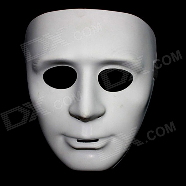 где купить Halloween Hip-hop Mask Dance / JabbaWockeeZ Performance Mask - White дешево