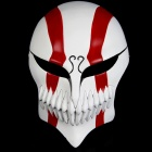 Halloween Resin Death Style Cosplay Mask - White + Red