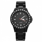 Crystal Fashion Wrist Watch - Black (1*377)